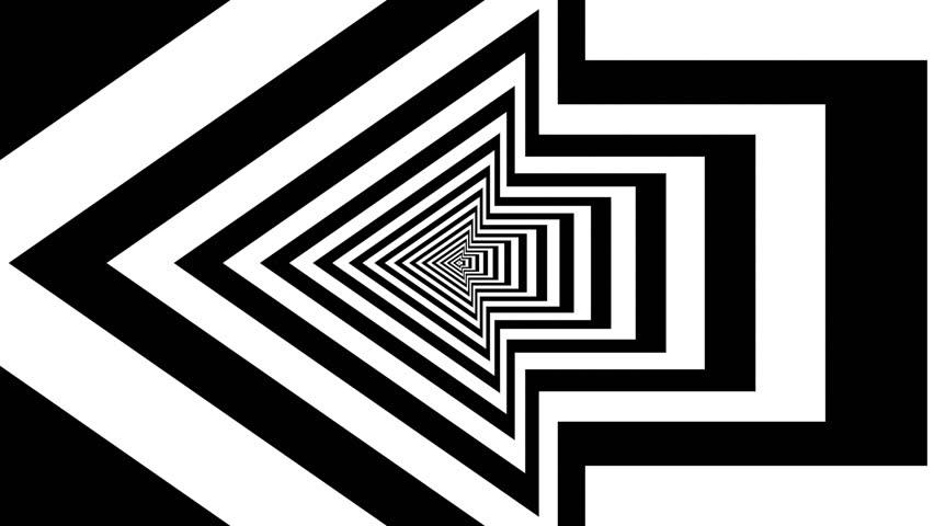 B&W arrows perspective 01