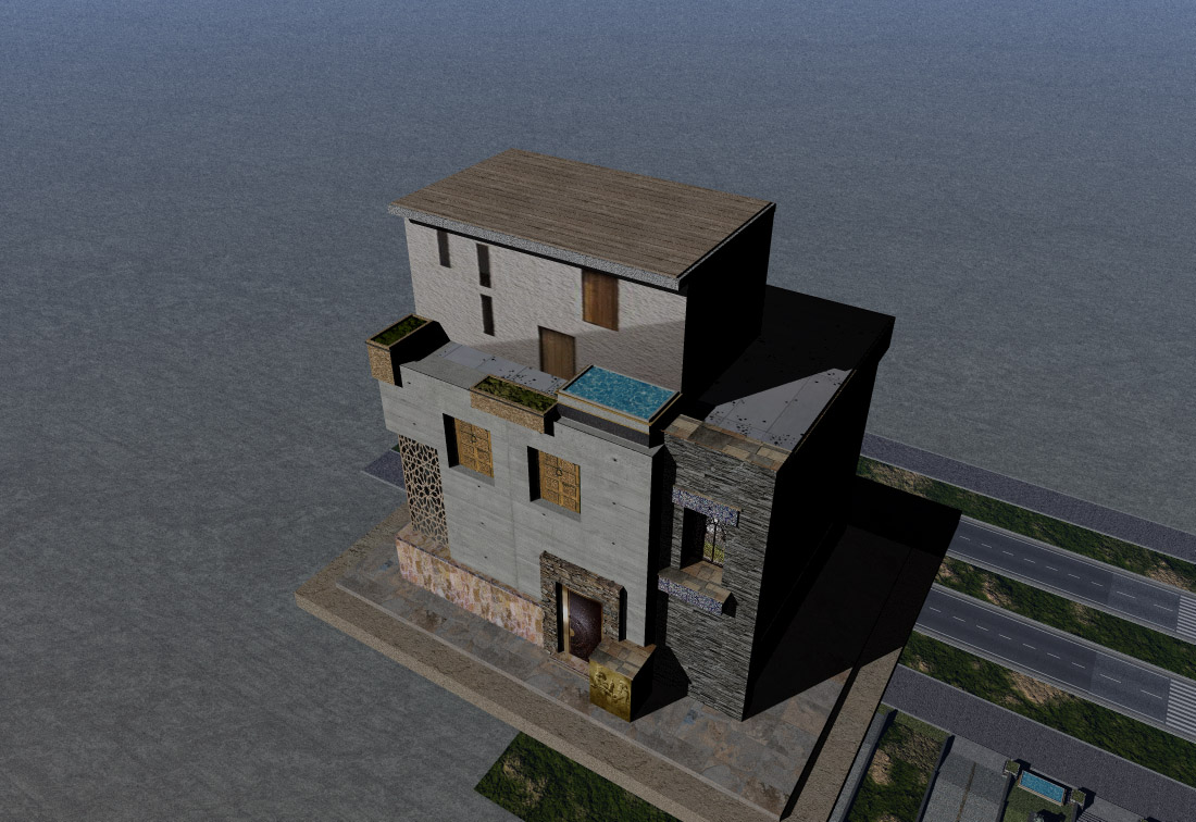 Rustic house 6