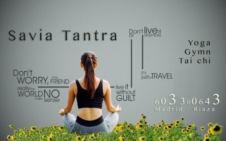 Savia Tantra - Diseño de cartelería